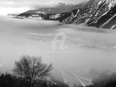 La plaine du Rhône depuis Venthône