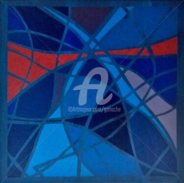 Série La valse colorée-La carafe et le verre