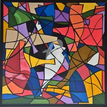 10.Série La valse colorée. Les carafes