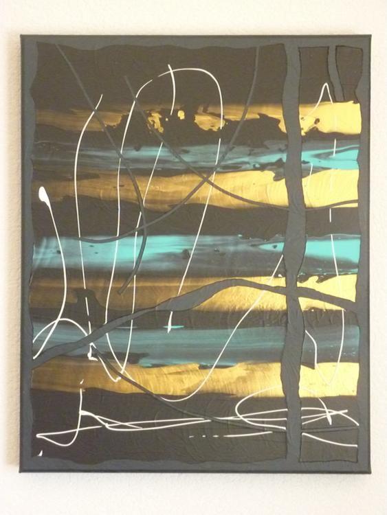 Acrylique sur toile 3 D